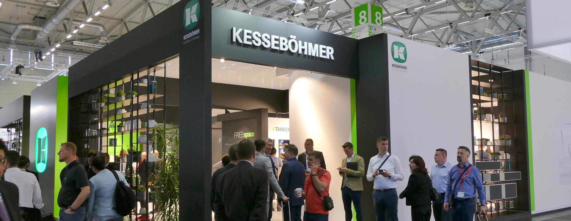 """""""Driving the Future""""Kesseböhmer Germany at Interzum 2019 – Clever Storage by Kesseböhmer"""